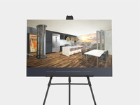 The Spires Architectural Rendering Displays