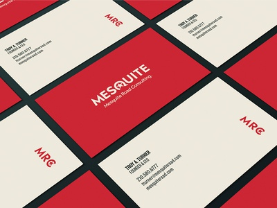 Mesquite Road Consulting Business Cards