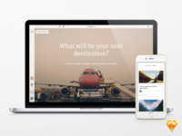 VSCO-Inspired Web Journal