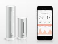Netatmo App Redesign