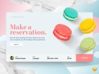 Restaurant Reservation Concept