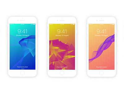 Looper Wallpapers uplabs muzli freebie download colorful gradient minimal background iphone sketch wallpaper looper