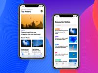 News app concept   full