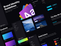 Brand Identity Guidelines 2.0 - Dark Edition