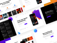 Landing page template full