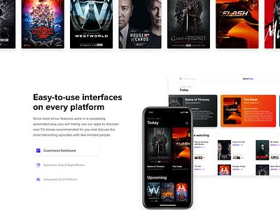 Landing Page Template inspiration design ios app web ui freebie template page landing