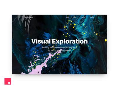 InVision Studio - Photography Portfolio Concept photography webdesign ux ui inspiration interaction design interaction concept portfolio invisionapp invision invisionstudio invision studio website web animation