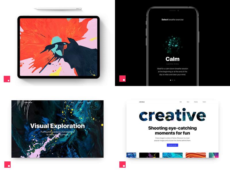 2018 Top 4 Shots prototype invision studio invisionstudio invisionapp web app inspiration product design ux ui concept interaction 2018 top4shots top dribbble