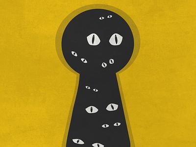 Ominous typography art vector minimal flat illustrator illustration graphic design design