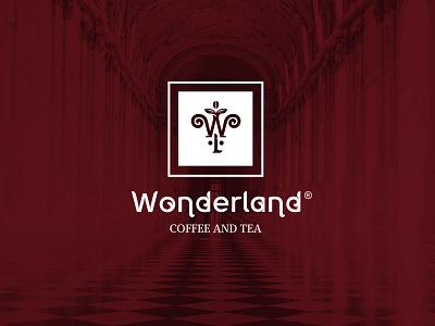 WONDERLAND COFFEE CHAIN графический дизайн typography фирменныйстиль design illustration rebranding персонаж иллюстрация кофейня вкус королева король чай кофе