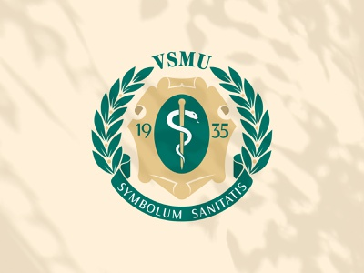 VOLGOGRAD STATE MEDICAL UNIVERSITY— VSMU typography брендинг ui doctor professional university logo volgograd training university illustration logo rebranding графический дизайн