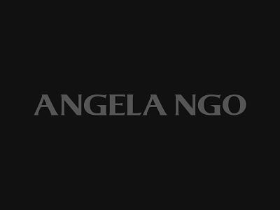 Angela Ngo / Logo Design vietnam designer fashion collection identity branding logo