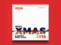 Andros Asia / Xmas & Happy New Year 2018 Visual