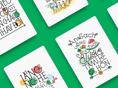 Manulife - Calendar 2019 calendar application typography healthy typography art calendar 2019 graphicdesign illustration art vietnam