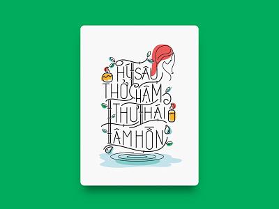 June / Manulife - Calendar 2019 vietnam illustration art graphicdesign calendar 2019 typography art healthy typography application calendar