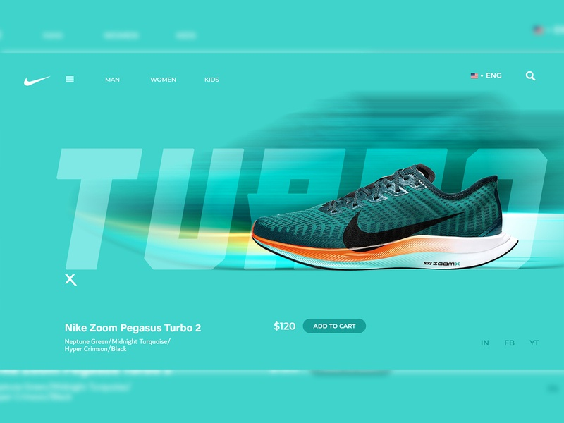 Nike Turbo Dribble Upload Bubblx com bubblx web design web design ui landing page design website design webdesign