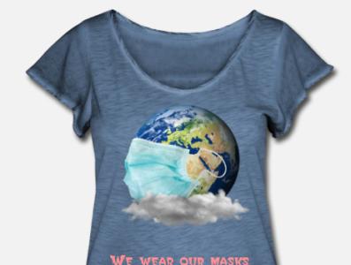 coronavirus t-shirts art animation website illustrator branding web typography logo design illustration