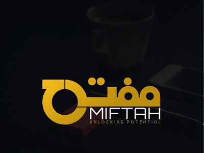 Miftah Consulting Agency illustration vector minimal icon graphic design flat typography branding design logo design logo