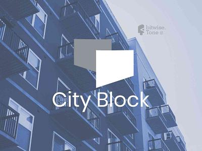 City Block Logo Design branding design brand logomark illustration symbols logoideas logotype art design logo creative logodesign logonew logos logoconcept typography graphicdesigndaily goldenratio logoinspire branding