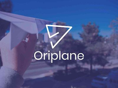 Oriplane Logo Design inspired inspiration inspire transport plane paper brand logo design logo design creative logodesign logonew logos logoconcept typography graphicdesigndaily goldenratio logoinspire branding