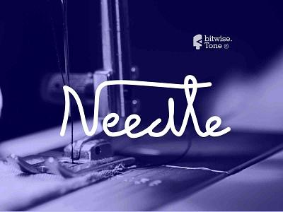 Needle Logo Design logomark inspiration inspire needle wool clothes brand design logotype logo logodesign logonew logos logoconcept typography design creative graphicdesigndaily goldenratio logoinspire branding