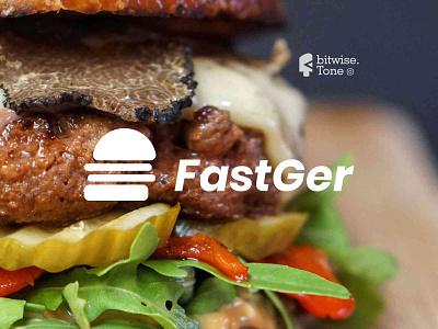 FastGer Logo Design typogaphy logodaily delicious vegetables brand design inspire inspirations food fastfood burger creative logodesign logonew logos logoconcept typography graphicdesigndaily goldenratio logoinspire branding