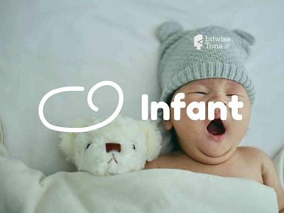 Infant Logo Design sleep typogaphy photography sweet dream child inspiration kawaii cute design creative logodesign logonew logos typography logoconcept graphicdesigndaily goldenratio logoinspire branding