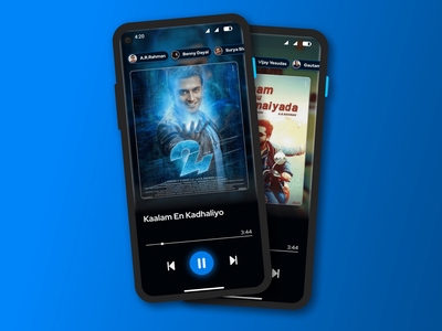Music Player music player music app song cover song player song song poster logo android app design social figmadesign figma android app ux ui app