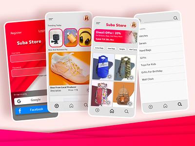 Online store app ui design figma design store app ecommerce app ecommerce online store sign in dailyuichallenge design app design android app figmadesign figma ux ui app
