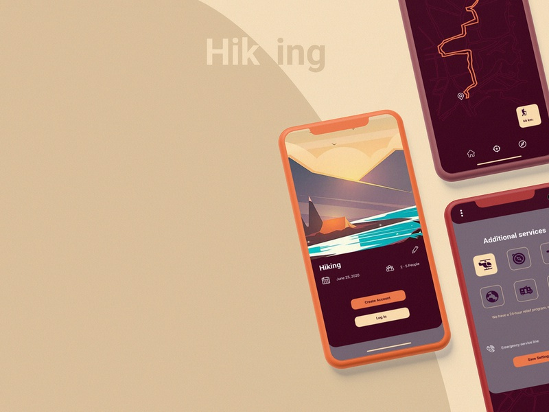 Hiking cg uiux