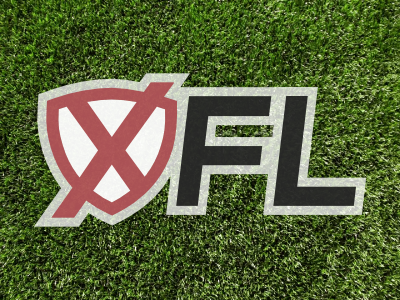 XFL Rebrand logo league football xfl