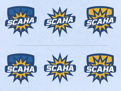 SCAHA V2 league logo hockey