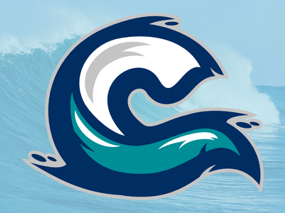 Wave sports monogram c wave