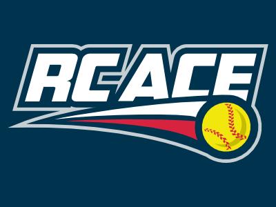 RC ACE Softball Logo logo league softball