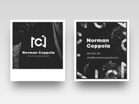 Norman Coppola logo & business cards