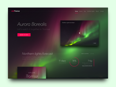 Daily UI #003, Landing Page