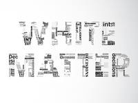 Promotional Advertising Typography
