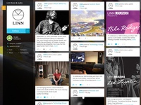 Content feed for social network KILTR