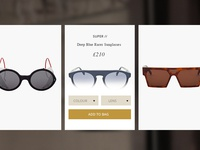 Sunglasses Boutique - Hover / Add to Basket