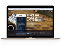 Homepage / Landing Page for Stanza