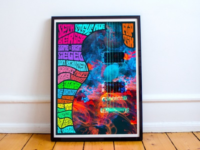 Psychedelic Inspired Poster