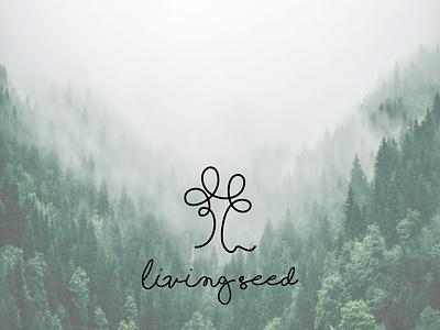 tree logo illustration character graphic design vector typography minimal flat design branding