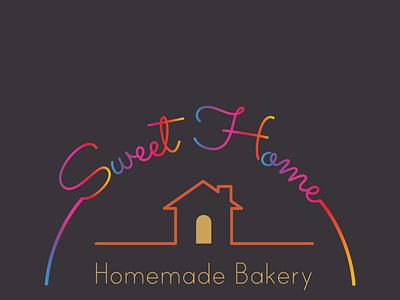 Homemade Bakery illustrator logo illustration vector graphic design typography minimal flat design branding