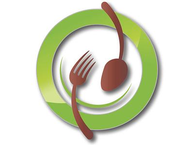 budget spoon illustrator logo illustration vector graphic design typography minimal flat design branding