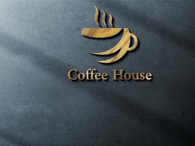 coffee shop logo illustrator logo illustration vector flat graphic design typography minimal design branding