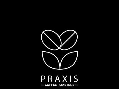 PRAXIS illustrator logo illustration vector graphic design typography flat minimal design branding