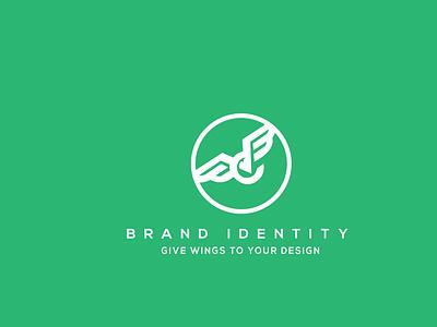 brand identity illustration character type logo graphic design typography minimal flat design branding