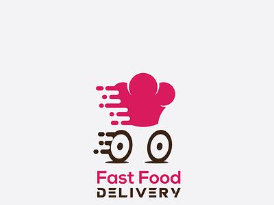 FAST FOOOD illustrator logo illustration vector graphic design typography minimal flat design branding