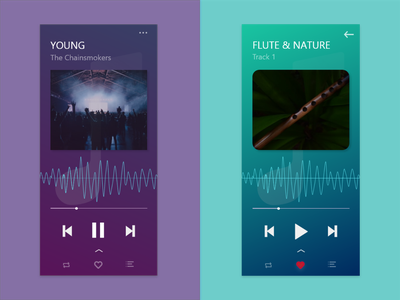 MUSIK music app mobile ui icon app ui ux design