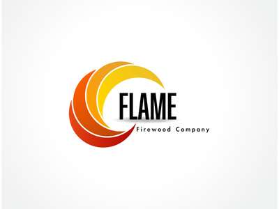 Flame logo | dailylogochallenge daily challenge logo flame fire illustration graphic design